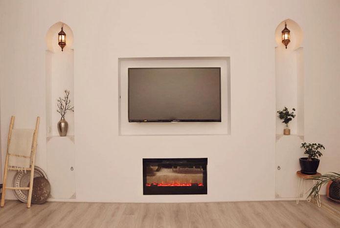 oosterse woonstijl in de tv hoek