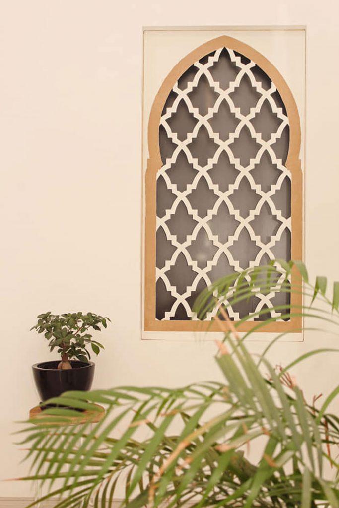 raam in iisterse woonstijl zelf maken