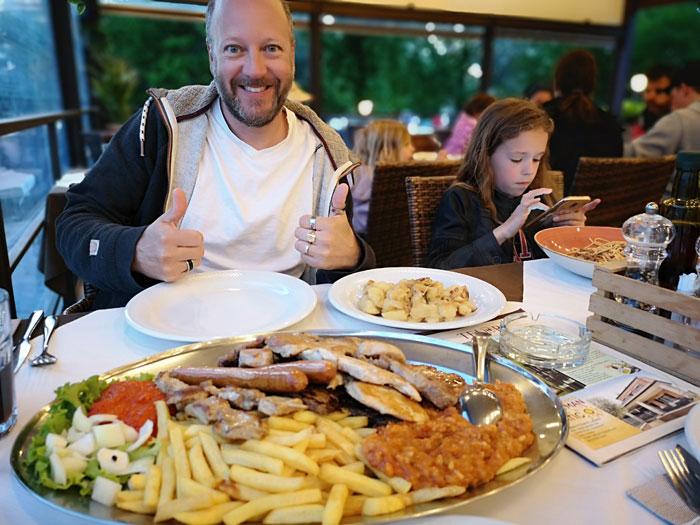 restaurant bijela uvala kroatie