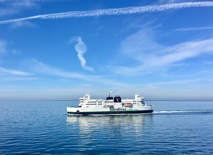 scandlines oversteek Lolland-Falster