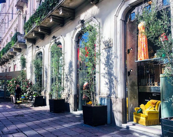 tips Milaan, straatje