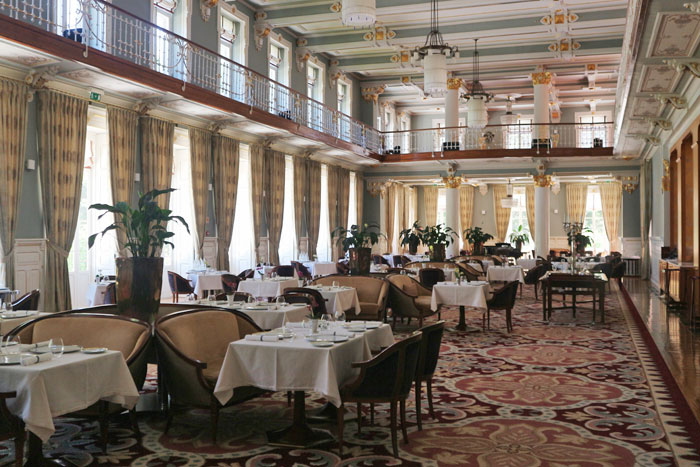 Vidago Palace hotel eetzaal
