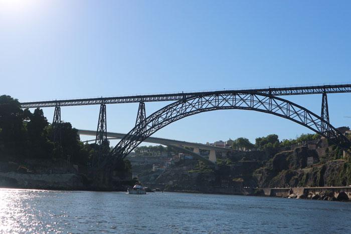 Ponto Maria Pia brug in Porto