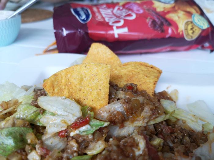 taco recept tortilla