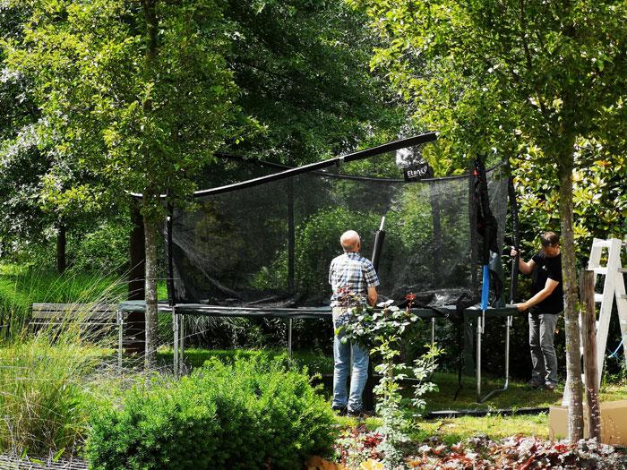 Trampoline opzet service, waar op letten bij aankoop trampoline