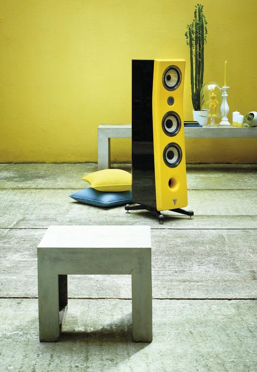 Focal luidspreker geel