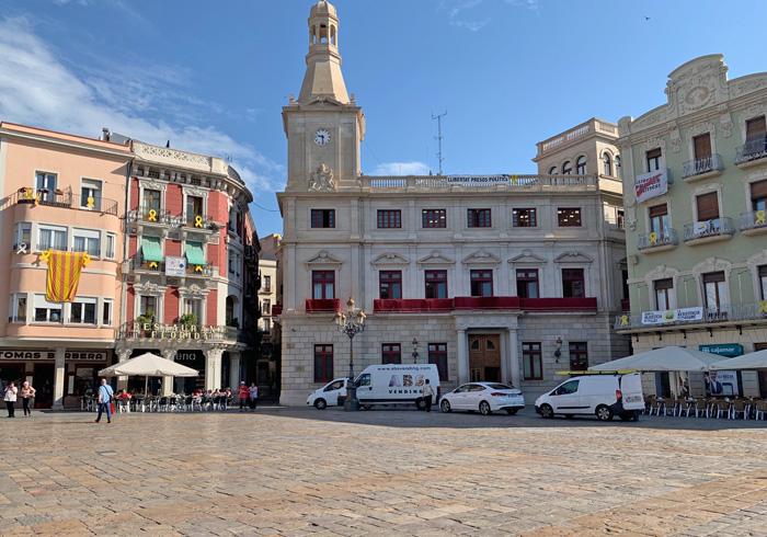 de stad Reus in Spanje aan de Costa Daurada