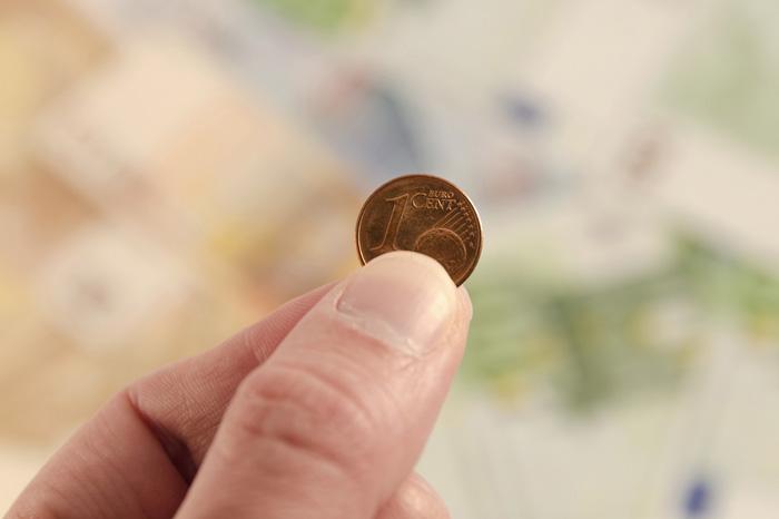 betalen met eurocenten