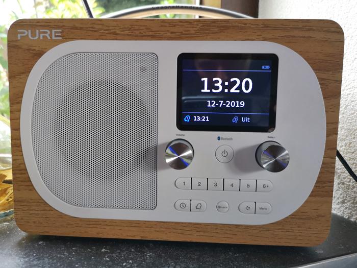 digitale wekker radio Pure Evoke H4