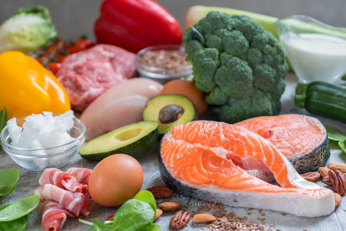 eten laag in koolhydraten