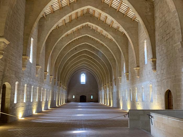 gangen klooster Poblet