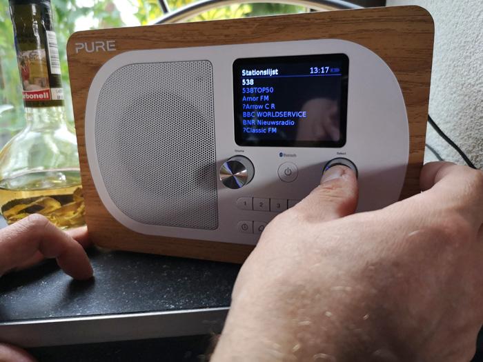 Pure digitale radio