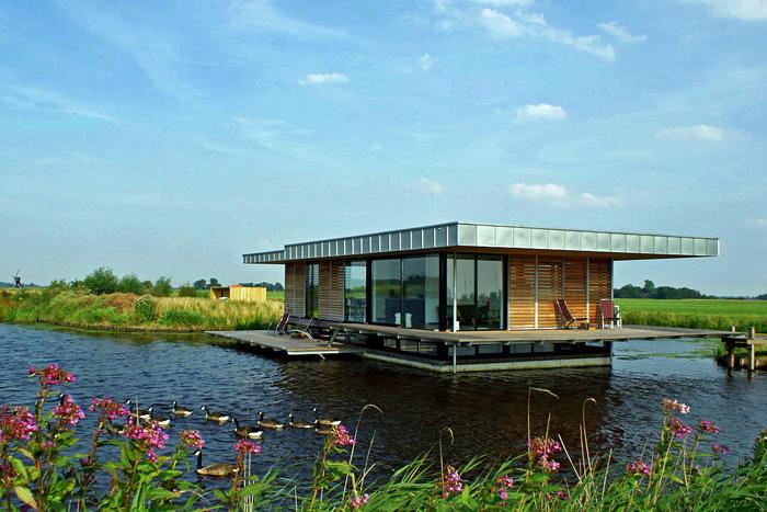 Friesland woonboot vakantie