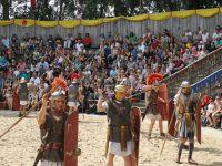 archeon, demonstratie romeinen