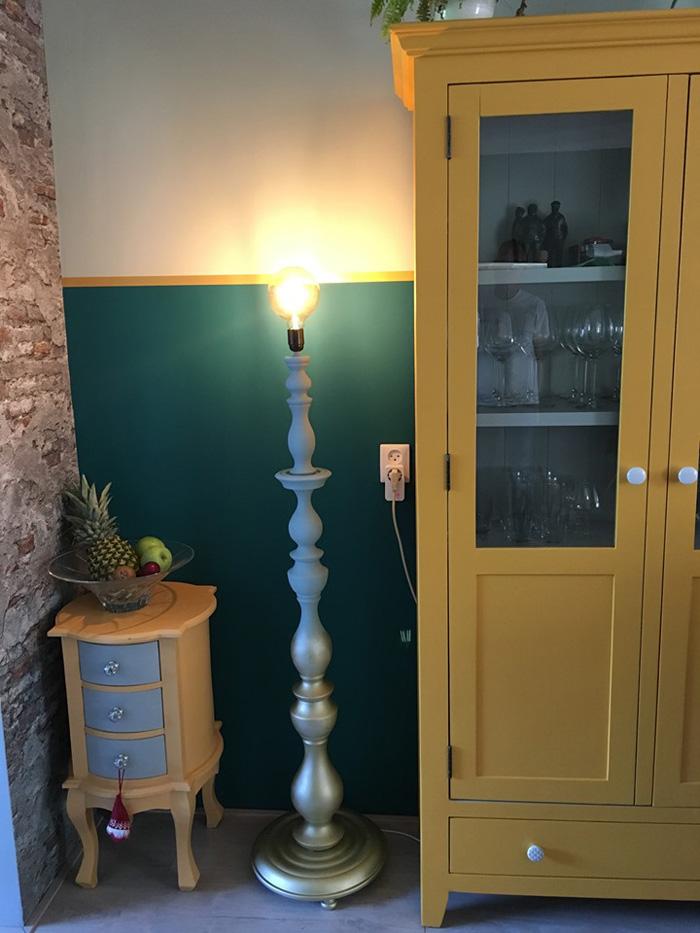 oude lamp opknappen