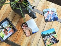 vakantieherinneringen op onderzetters