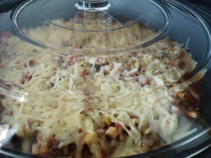 vegetarische lasagne in de slowcooker