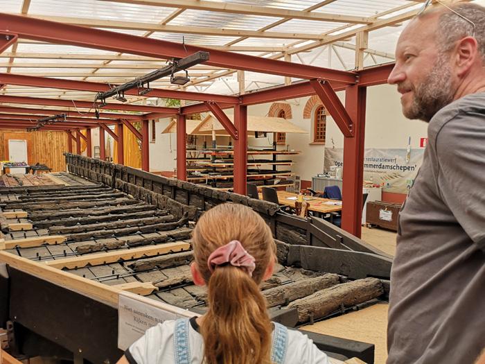 zwammerdam schip Archeon museum