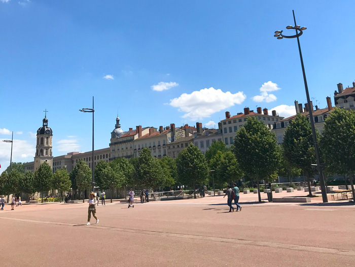 Lyon citytrip place Bellecour