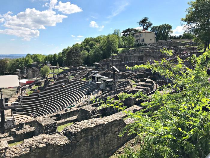 Lyon Theatre Romains de Fourviere