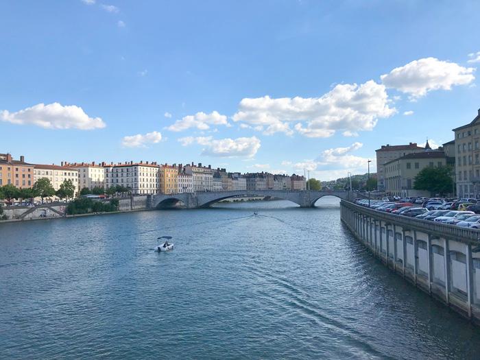 Lyon citytrip Saone
