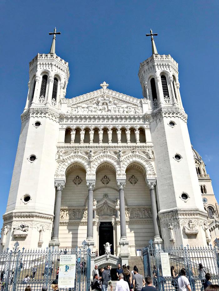 Notre Dame de Fourviere Lyon