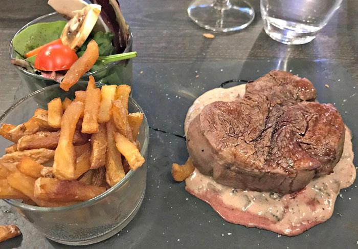 Restaurant Le Canopy boeuf