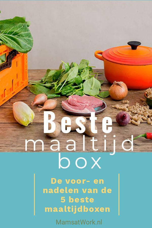 Dit zijn de voordelen en nadelen van de beste maaltijdbox top 5 maaltijdboxen voor lekker makkelijk, snel en gezond eten