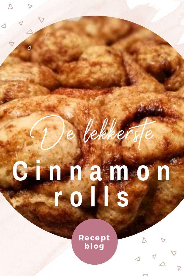 De lekkerste cinnamon rolls maak je zelf. Met dit recept maak je heerlijke kaneelbroodjes om lekker van te smullen