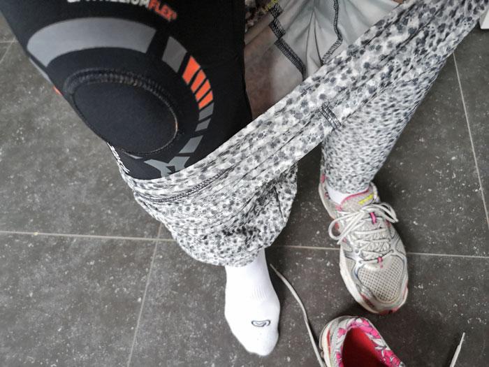 hardlopen zonder pijn met de physiostrap