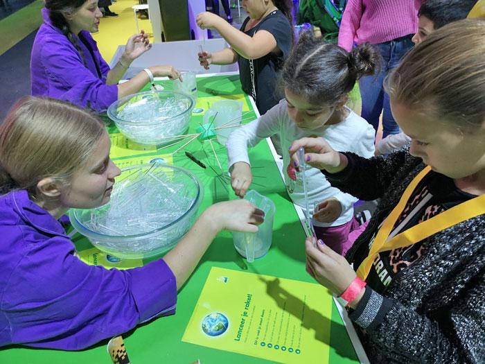raket maken op generation discover festival