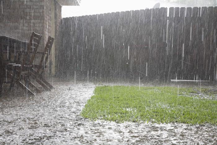 wateroverlast in tuin oplossen