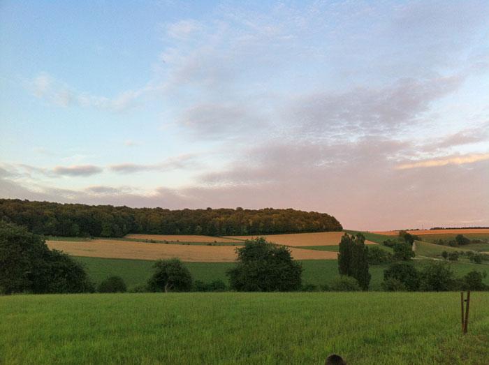 landschap Noord-Frankrijk