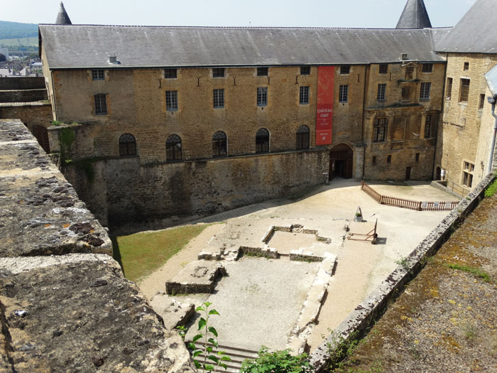 Sedan noord-frankrijk met kinderen kastelen bezoeken