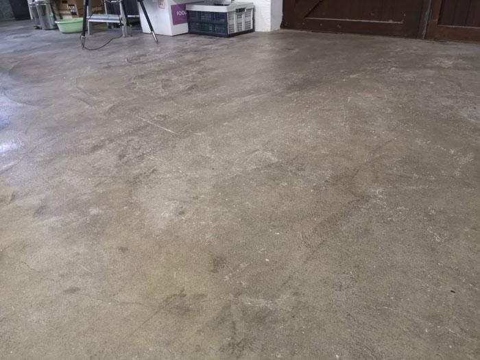betonvloer bewerken