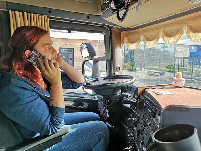 vrwachtwagenchauffeur vrouwelijk