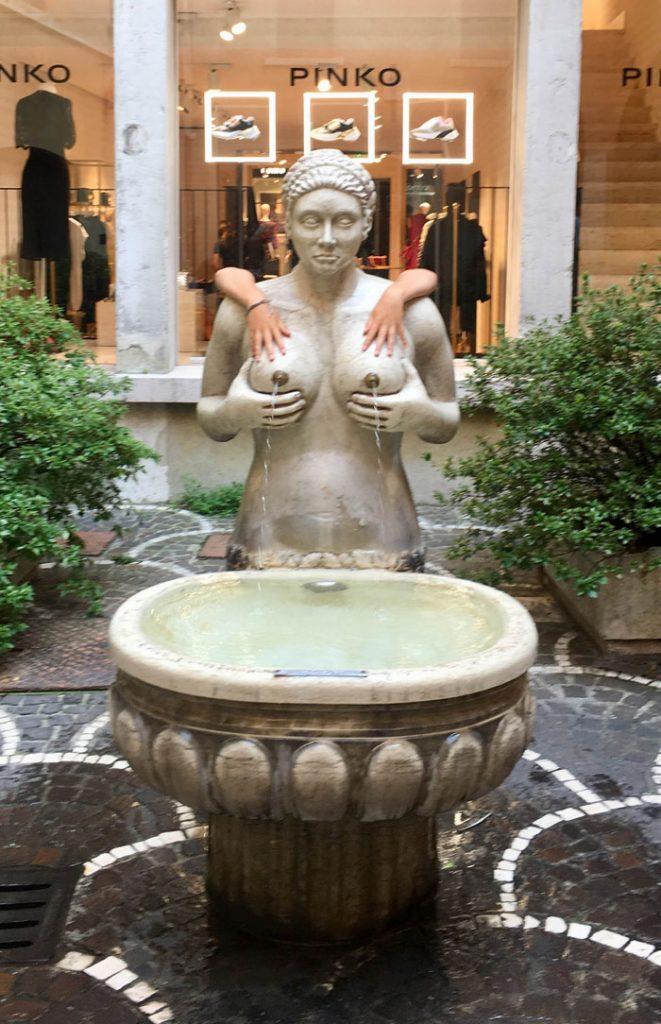 Fontana del Tetta in Treviso