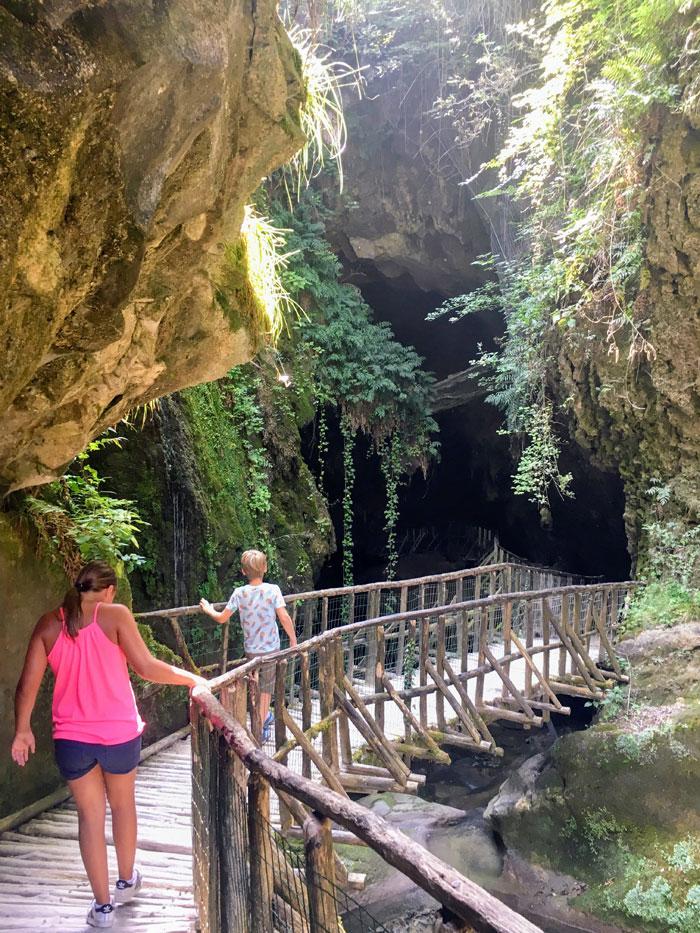 Grotte del Caglieron in Fregiona