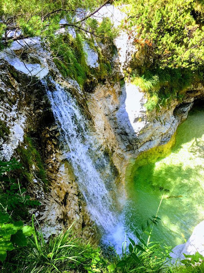 Val des Mis, watervallen in Italie