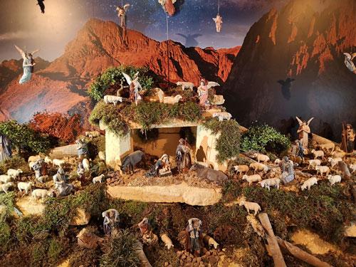 bijbelverhaal kerstminiaturen mergelrijk
