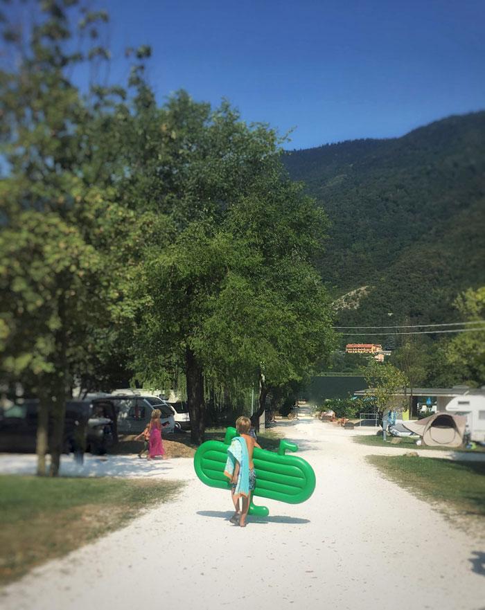 Camping al Lago in Italie
