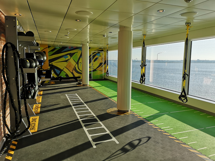 Fitnessen tijdens een cruise maken