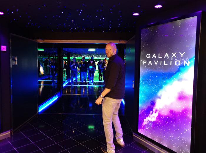 galaxy Pavilion op de Encore van Norwegian Cruise Line