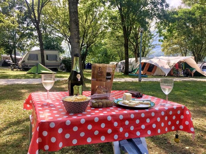 kampeerplekken Camping al Lago