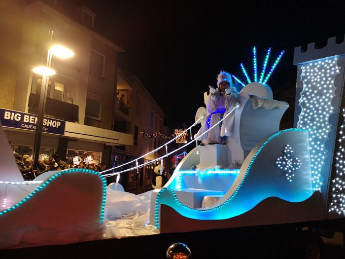 Kerststad Valkenburg parade