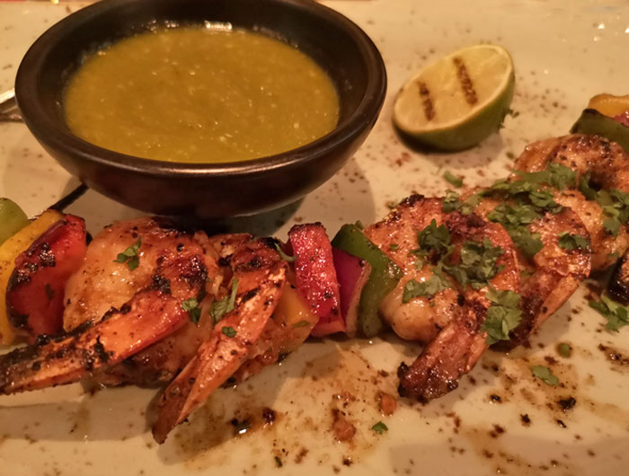 Los Lobos, het mexicaanse restaurant op de Norwegian Encore