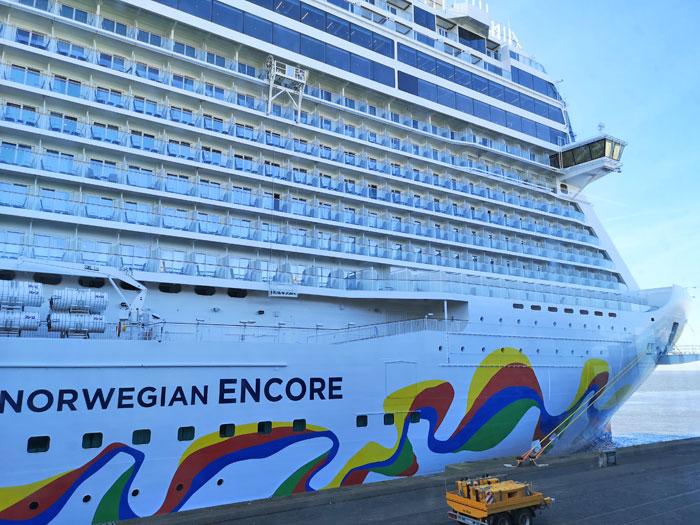 cruise maken met de Norwegian Encore