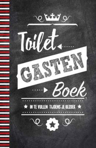 toilet gasten boekje