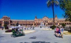 Citytrip Sevilla tips plaza de Espana
