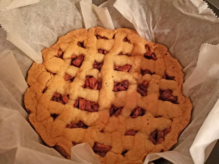 Recept voor appeltaart in de slowcooker